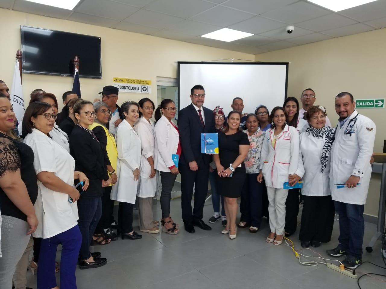 Hospital de Moca presenta primera versión de Carta Compromiso al ciudadano
