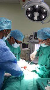 El Hospital Dr. Toribio Bencosme Realiza Jornada Quirúrgica.